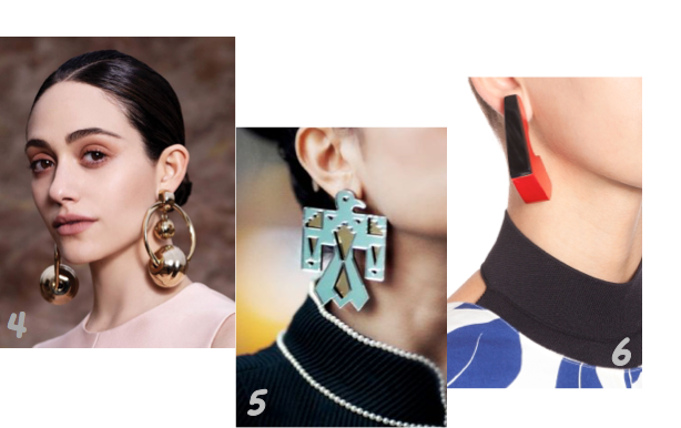 4 Earrings © FASHION GONE ROUGE 5 Earrings MELODY EHSANI © Melody Ehsani 6 Earrings MARNI SS 2016 © Marni