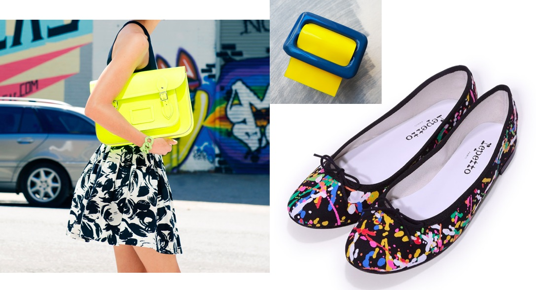 Arty pop yellow accessories
