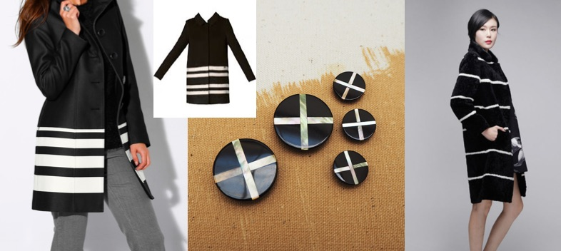 customise black coat