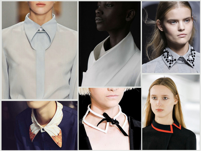 false collar fashion effects