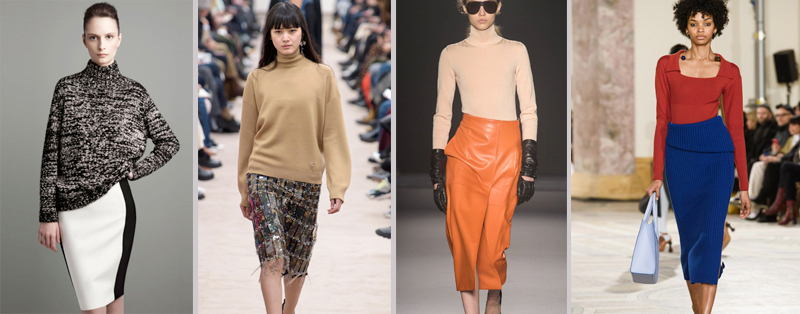 Fashion trends accessories or essentials pencil skirt