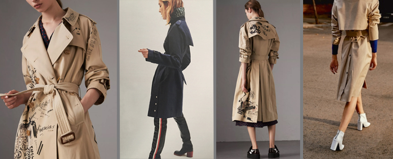 Fashion trends accessories or essentials trench
