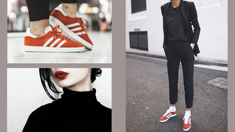 stand out a matter of black and red style