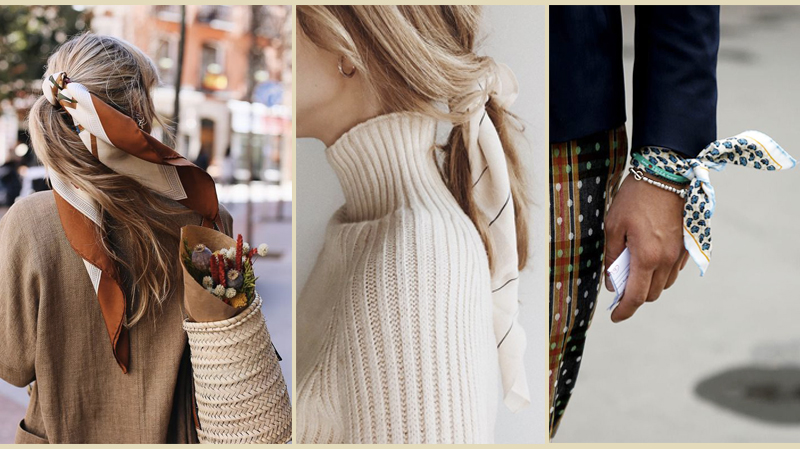 Stand out fashion style scarf