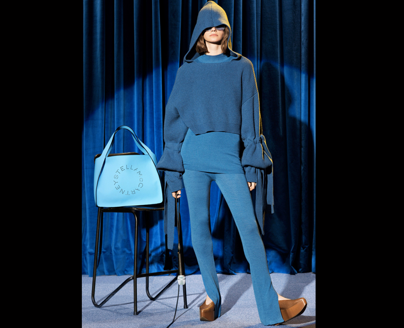 avant garde fashion stella mccartney blue style