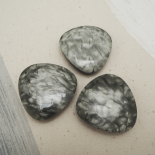 Glams Shingle button 40mm
