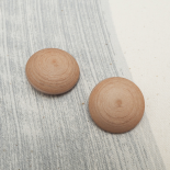 Peach Pink Shell-shaped Button 24-30mm
