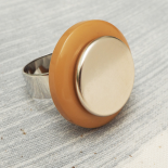 Summer Time Original Button Ring