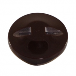 Brownish shell Momentum button 13-23mm