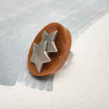 Bague Originale Double Star