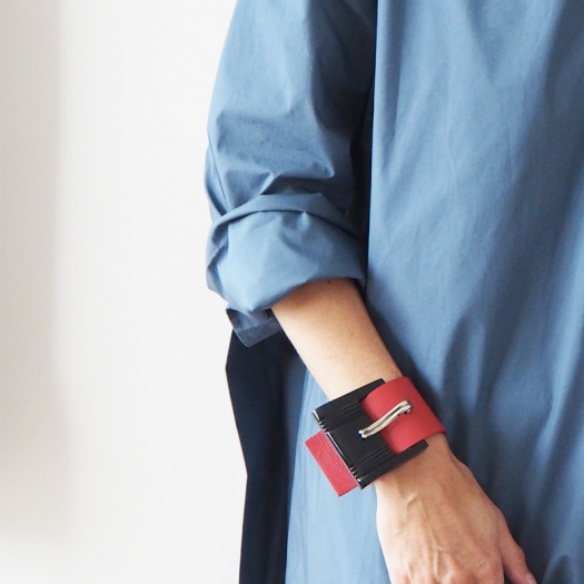 Red Leather Cuff Graphic