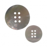 Mother-of-pearl Geometry button 15-23mm
