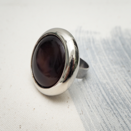 Sienna original button ring