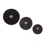 French Code ebony button 10-20mm
