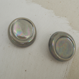 Gray Porcelain button 30mm