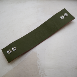 Original Anise Green Leather Cuff
