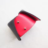 Design Dolce Vita Leather Black Fuchsia Pink