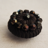 Brown Chocolate Designer Coat Button 34 mm