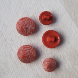 Bouton Rond Chic Lili Rouge 13-18mm