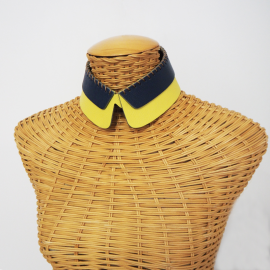 Detachable Collar SAM yellow blue