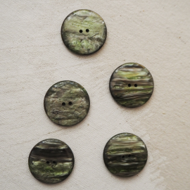 Green Design Button Dries 31mm