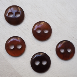 Beautiful beige brown speckled buttons 30mm