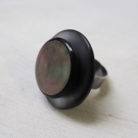 Large Ring Mother of Pearl Duo Design