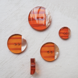 Beau Set Boutons Orange Bolide 17-22-27-33mm