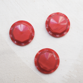 Design Red Coat Button 35mm