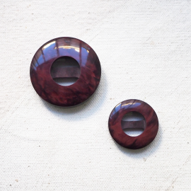 Bouton Design Violet Prune 22-26-31mm