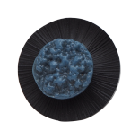 Original Blue Lagoon Lava button ring