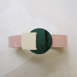 Jewelry Belt Buckle Pink