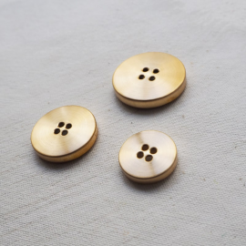 Design Button Brushed Gold Disco 18-20-26-31mm