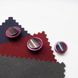 Jewelry Button Marbled Purple Gala 22-27mm