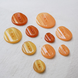 Design Buttons Set Gala Art Deco Pastel