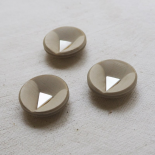Design Button Space Age Sand Beige 25mm