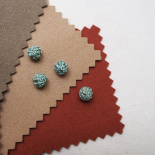 Baby blue crochet trimmings button 12mm