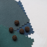 Button Trimmings Hook Brown Bronze 12mm