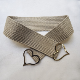 Design Belt Beige Love Love