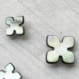 Taupe Puzzle button 11-16mm