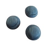 Blue Pompom Button 26mm