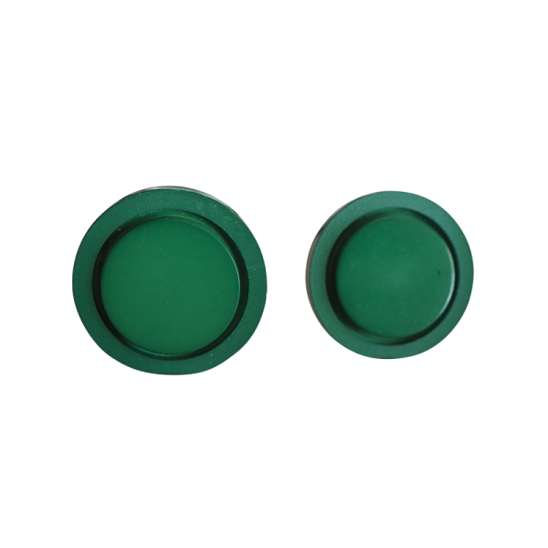 Green tropic lacquer button 26mm buttons paradise - Green button ...