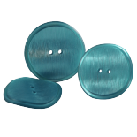 Bouton Bleu Pop Fifties 30-33mm