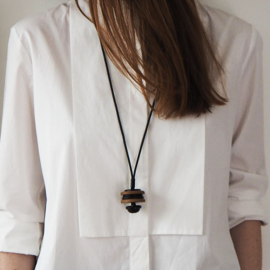 Original Inspiration Button Necklace