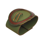 Original Green Mantis Leather Cuff