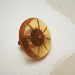 Original Amber Sun Design Ring