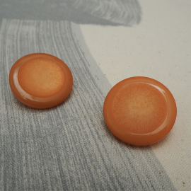 Sweet Orange Button 30mm