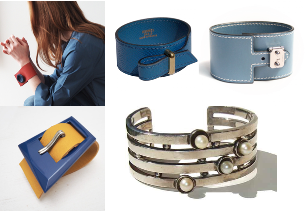 Cuff bracelets are making an impressive comeback!